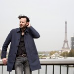 Cover shoot with Franck Boniface in Paris. Of course, like all foreigners, we love the Seine and the Eiffel-Tower.