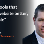 """""""It isn't tools that make a website better, it's people!"""""""