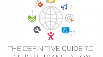 FREE eBook: The Definitive Guide to Website Translation