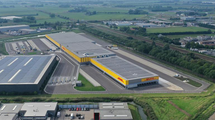 DHL opens largest e-commerce sorting center for the Benelux