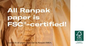 Ranpak Earns Full FSC® Certification for its Paper Packaging Products